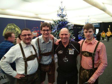 Bei der PDC World Darts Championship 2018 (c) Brunmüller