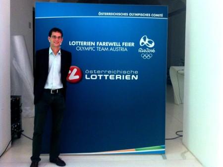 Lotterien Farewell Feier Rio 2016