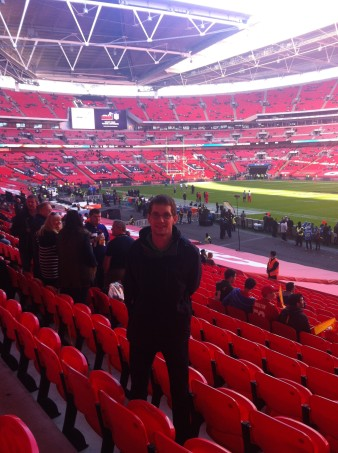 Im Wembley Stadion bei Kansas City Chiefs vs. Detroit Lions 2015 (c) Rechenmacher