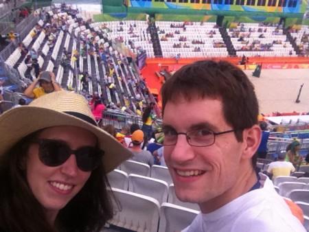 Bei den Olympischen Spielen in Rio de Janeiro (c) Mihelic