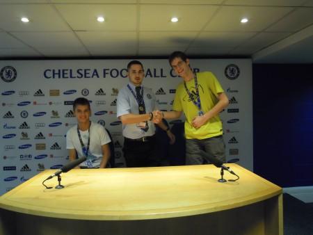 Stadiontour beim FC Chelsea 2014 (c) Brunmüller