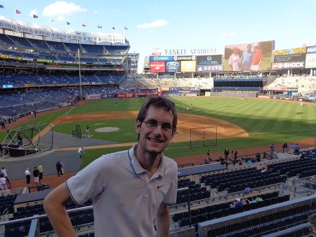 Beim MLB-Spiel New York Yankees vs. Boston Red Sox 2015 (c) Mihelic